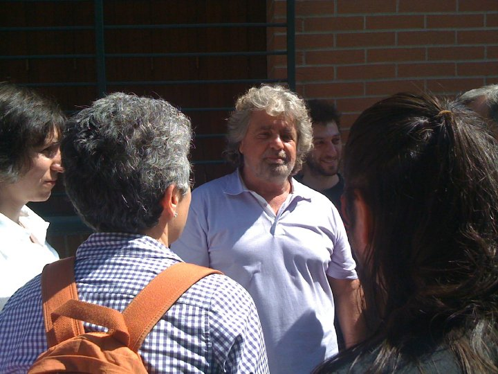 Beppe Grillo a Paderno Dugnano 4, paderno7onair.it