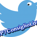 Live tweeting logo